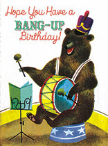 Birthday - Bear with a Drum