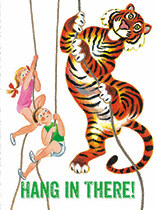 Encouragement - Kids & Tiger Climbing Ropes