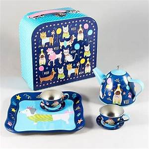 Pets Tin Tea Set