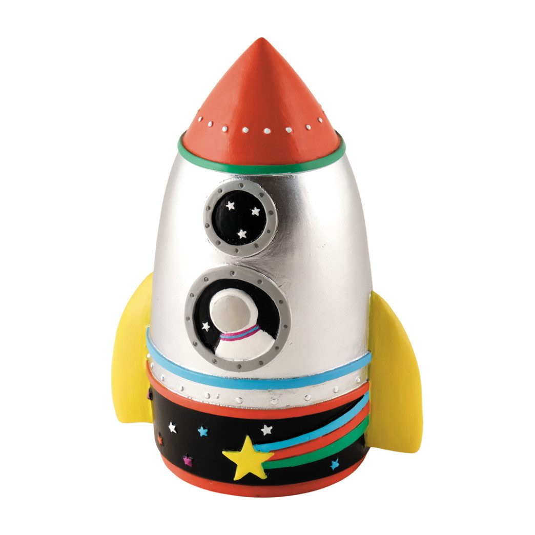 Rocket Piggy Bank