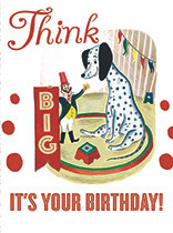 Birthday - Giant Dalmation