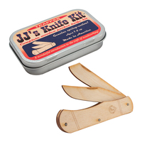 JJ's Wooden Pocket Knife Kit