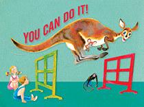 Encouragment - Kangaroo Hurdles