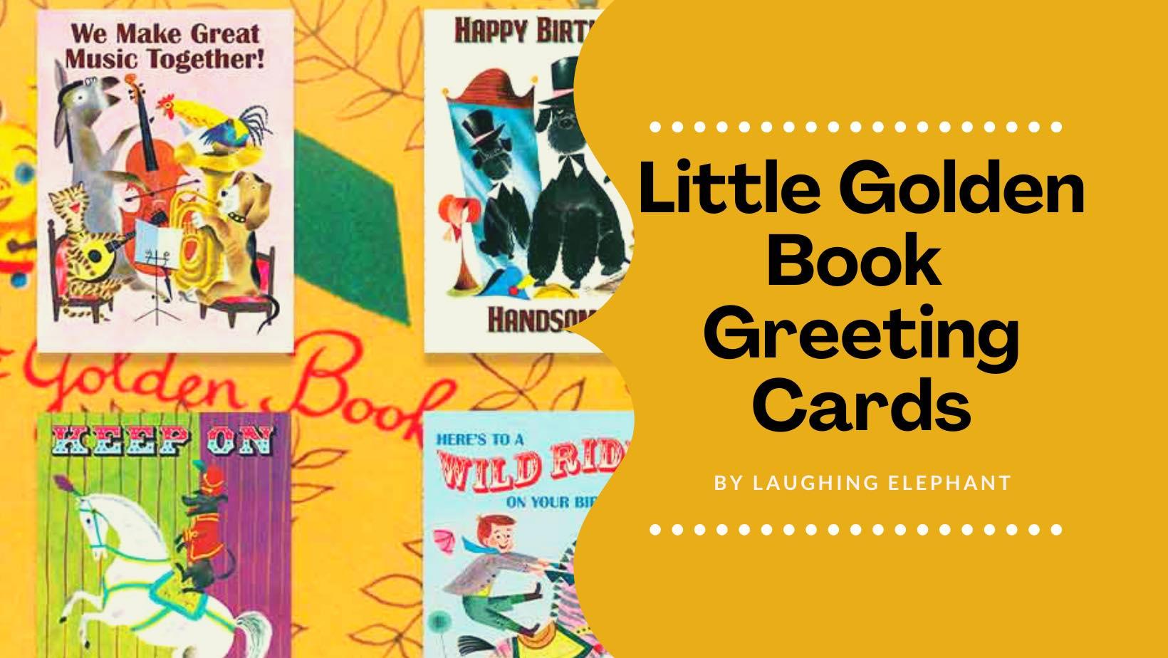 Little Golden Book Greeting Cards