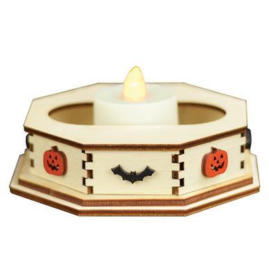 Spooky Tea Light Display