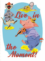 Thinking of You - Pig with Violin