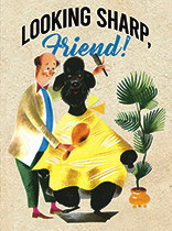 Thinking of You - Poodle and Barber