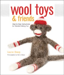 Needle Felting Book - Wool Toys